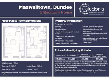 Thumbnail 2 bed property for sale in Alexander Street, Dundee