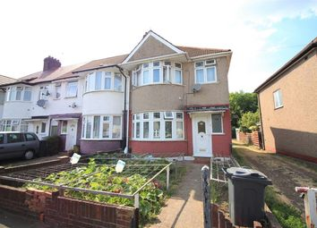 Thumbnail 3 bed end terrace house for sale in North Drive, Hounslow/ Isleworth