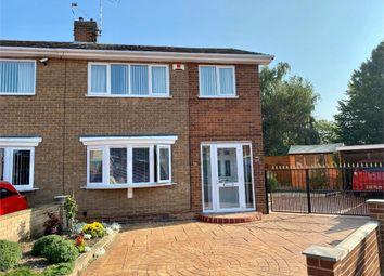 Thumbnail 3 bed semi-detached house for sale in Bean Avenue, Worksop, Nottinghamshire
