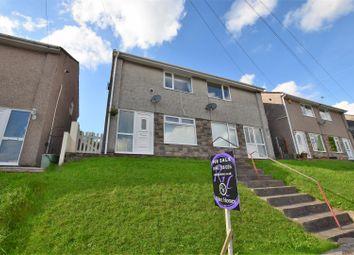 Thumbnail 2 bed semi-detached house for sale in Clos Llangefni, Beddau, Pontypridd