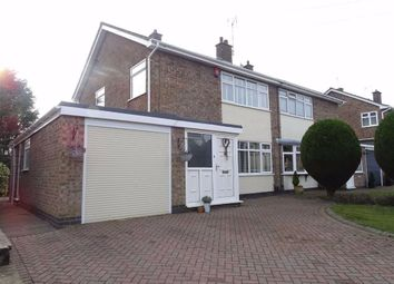 Thumbnail 3 bed semi-detached house for sale in Woodstock Close, Burbage, Hinckley