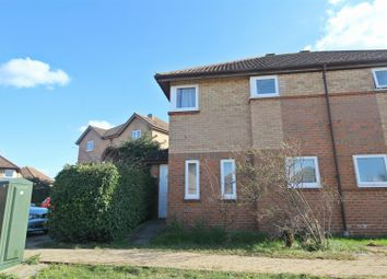 Thumbnail 3 bedroom semi-detached house to rent in Engaine Drive, Shenley Church End, Milton Keynes