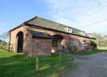 Thumbnail 4 bedroom barn conversion to rent in Attleborough Road, Hingham, Norwich