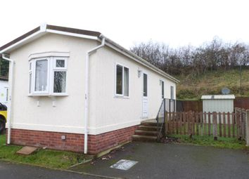 Thumbnail 1 bed mobile/park home for sale in Swanbridge Mobile Home Park, London Road, Dorchester