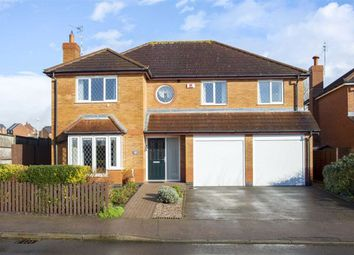 Thumbnail 5 bed detached house for sale in Florian Way, Hinckley