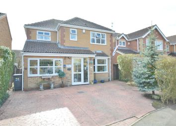 Thumbnail 5 bed detached house for sale in Primrose Close, Lincoln