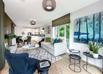 Thumbnail 2 bed flat for sale in Wilton House, Tadworth Gardens, Tadworth