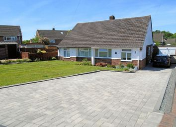 Thumbnail 2 bed semi-detached bungalow for sale in Tennyson Gardens, Fareham