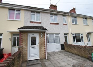 Thumbnail 3 bed terraced house for sale in Maesglas Crescent, Newport
