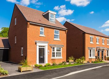 "Thumbnail 4 bedroom detached house for sale in ""Bayswater"" at Fen Street, Brooklands, Milton Keynes"