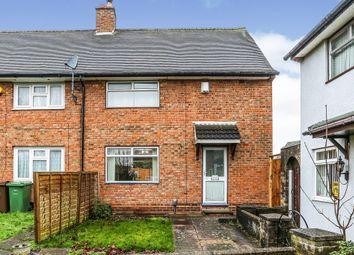 Thumbnail 3 bed end terrace house for sale in Meriden Drive, Kingshurst, Birmingham