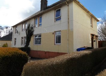 Thumbnail 1 bed flat for sale in Annanhill Ave, Kilmarnock