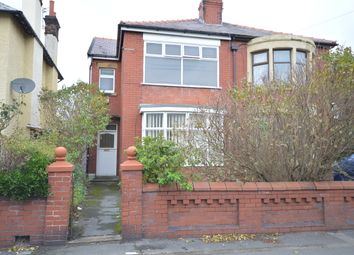 Thumbnail 3 bed semi-detached house for sale in Burlington Road, Blackpool