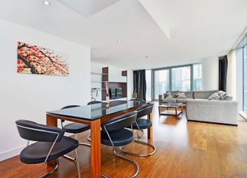 Thumbnail 3 bed flat to rent in Landmark West Tower, Canary Wharf