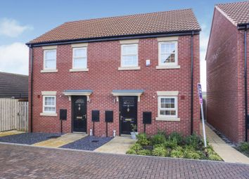 Thumbnail 2 bed semi-detached house for sale in Stoborough Crescent, Pontefract