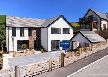 Thumbnail 5 bed detached house for sale in Llangeinor, Bridgend