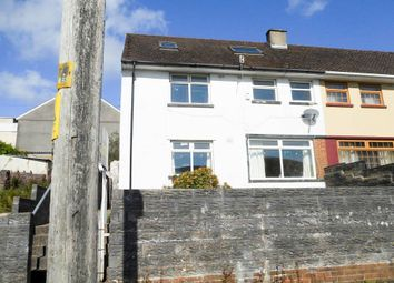 Thumbnail 3 bed semi-detached house for sale in Danybryn, Porth