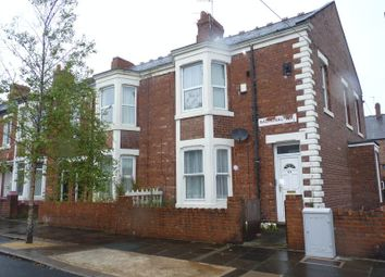 Thumbnail 2 bedroom flat for sale in Balmoral Terrace, Heaton, Newcastle Upon Tyne