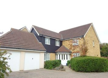 Thumbnail 4 bed detached house for sale in Campbell Road, Hawkinge, Folkestone, Kent
