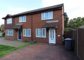 Thumbnail 2 bed semi-detached house for sale in Quincy Road, Egham