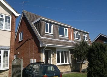Thumbnail 3 bed semi-detached house to rent in Longlands Lane, Findern