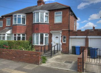 Thumbnail 2 bedroom semi-detached house for sale in Thornley Road, Newcastle Upon Tyne, Tyne And Wear