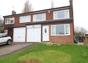 Thumbnail 3 bed semi-detached house for sale in Springvale Close, Wickersley, Rotherham, South Yorkshire