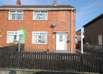 Thumbnail 2 bedroom semi-detached house for sale in Langdale Avenue, Crook, Co Durham