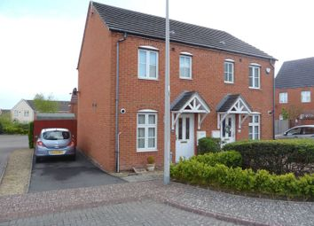 Thumbnail 2 bed semi-detached house for sale in Maes Slowes Leyes, Rhoose, Barry