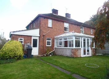 Thumbnail 3 bed semi-detached house for sale in Porch Lane, Caergwrle, Wrexham