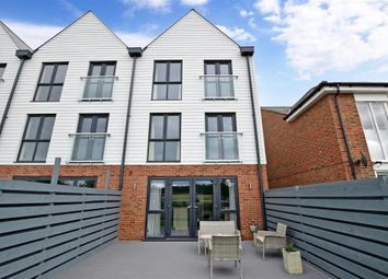 Thumbnail 3 bed town house for sale in Riverside Place, Aylesford, Kent