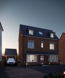 Thumbnail 4 bed detached house for sale in Meadow Bank, Llandarcy, Neath