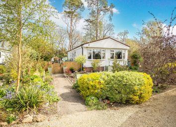Thumbnail 2 bed mobile/park home for sale in Trowbridge Lodge Park, Hilperton, Trowbridge