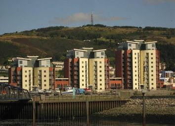 Thumbnail 1 bedroom flat to rent in South Quay, Kings Road, Swansea