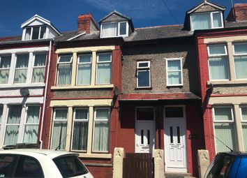 Thumbnail 4 bed terraced house to rent in Stringhey Road, Wallasey, Wirral