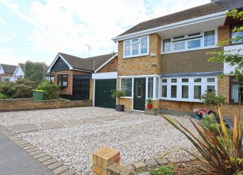 Thumbnail 3 bed semi-detached house for sale in Merryfields Avenue, Hockley