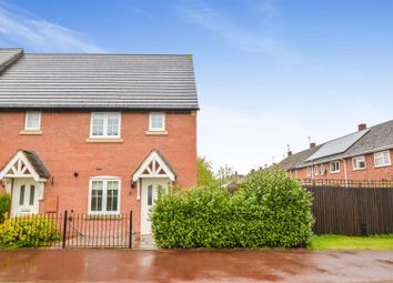 Thumbnail 2 bed town house for sale in Highland Drive, Loughborough