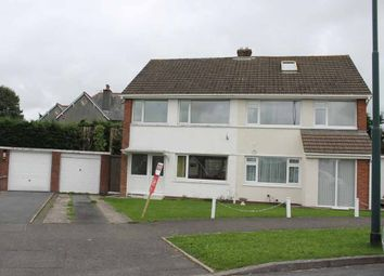 Thumbnail 2 bed semi-detached house to rent in 25 Erw Goch, Waunfawr, Aberystwyth