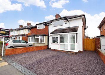 Thumbnail 3 bed semi-detached house for sale in Sladepool Farm Road, Maypole, Birmingham