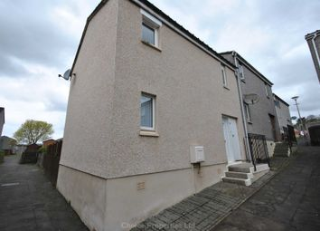 Thumbnail 3 bed end terrace house for sale in Lauder Court, Kilmarnock
