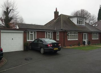 Thumbnail 4 bed bungalow for sale in Detached Bungalow, Brook Lane, Walsall Wood, Aldridge Border