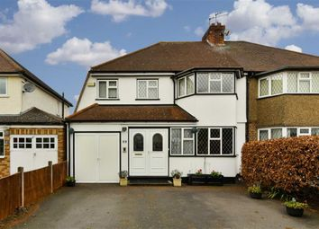 Thumbnail 4 bed semi-detached house for sale in Court Farm Avenue, Epsom, Surrey