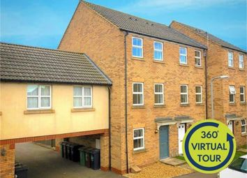 3 bed town house for sale in Carlisle Close, Corby, Northamptonshire NN18