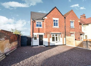 Thumbnail 3 bed semi-detached house for sale in Rosliston Road, Burton-On-Trent