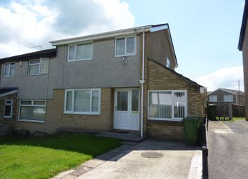 Thumbnail 3 bed semi-detached house to rent in Highdale Close, Llantrisant