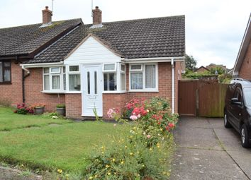 Thumbnail 2 bed semi-detached bungalow for sale in Roseleigh Crescent, Newhall, Swadlincote