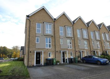 Thumbnail 3 bed town house for sale in Croxley Road, Nash Mills Wharf, Hertfordshire