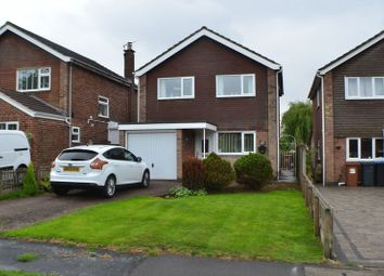 Thumbnail 4 bed detached house for sale in Waterfall Way, Barwell, Leicester