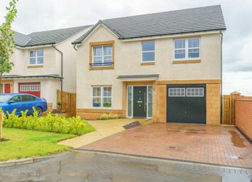Thumbnail 4 bed detached house for sale in Archerfield Crescent, Newarthill, Motherwell