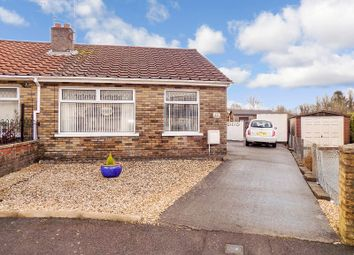 Thumbnail 2 bed semi-detached bungalow for sale in Dol Wen, Pencoed, Bridgend .